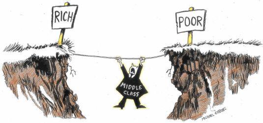Cartoon Middle Class