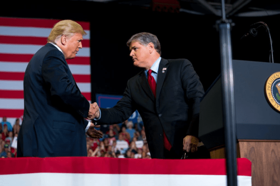 Is Sean Hannity A Cable News Host Or A Trump Propagandist Apparently Hes Both