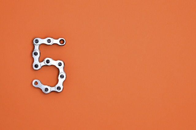 5 in bike chain