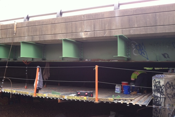 VDOT I-495 over Scotts Run  Soundwall #1JPG