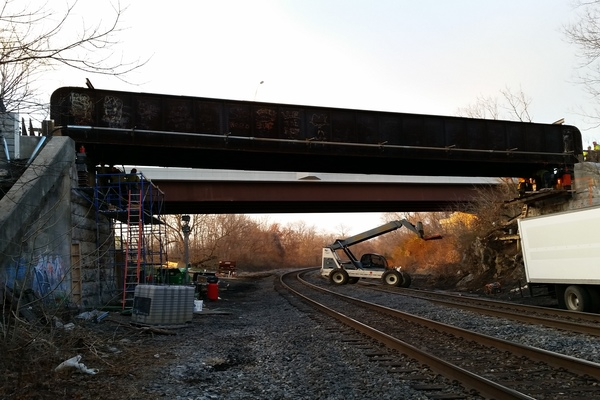 W&W Bridge Raising #2