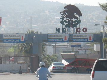 Tour of Baja- Mexican border