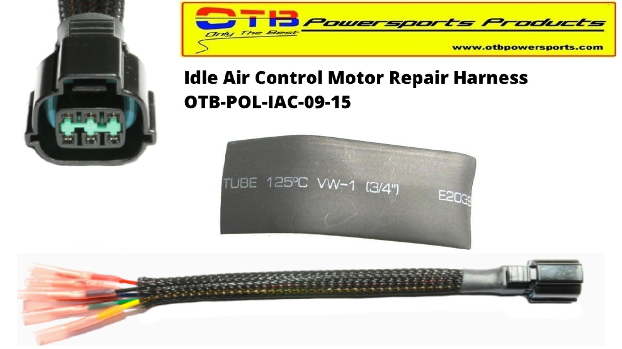 Idle Air Control Motor Wiring Repair Harness Otb Powersports Productsrhotbpowersports: 2007 Polaris Sportsman 500 Efi Wiring Harness At Gmaili.net