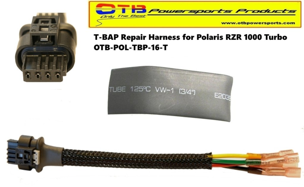 T-BAP Wiring Repair Harness For Polaris RZR 1000 TURBO