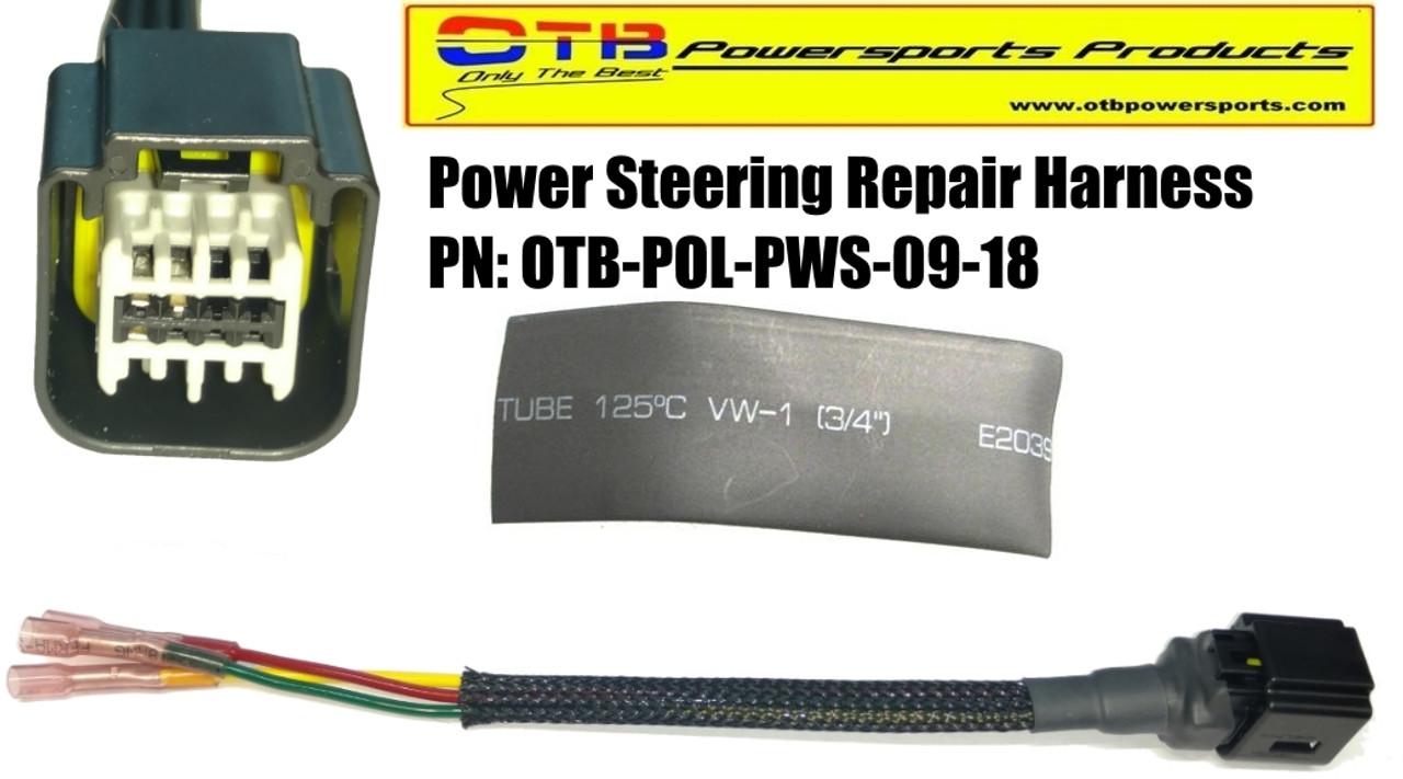 polaris power steering repair harness  polaris power steering wiring harness #1