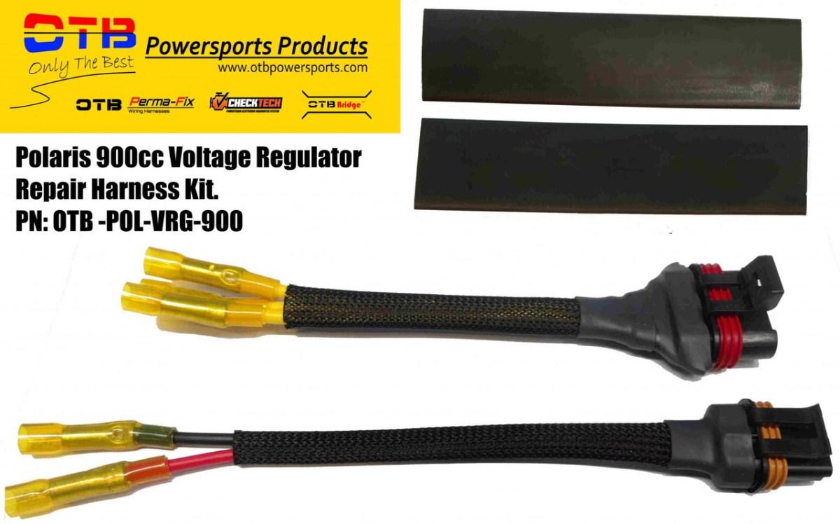 Voltage Regulator Repair Harness Kit For Polaris 900cc Vehicles on