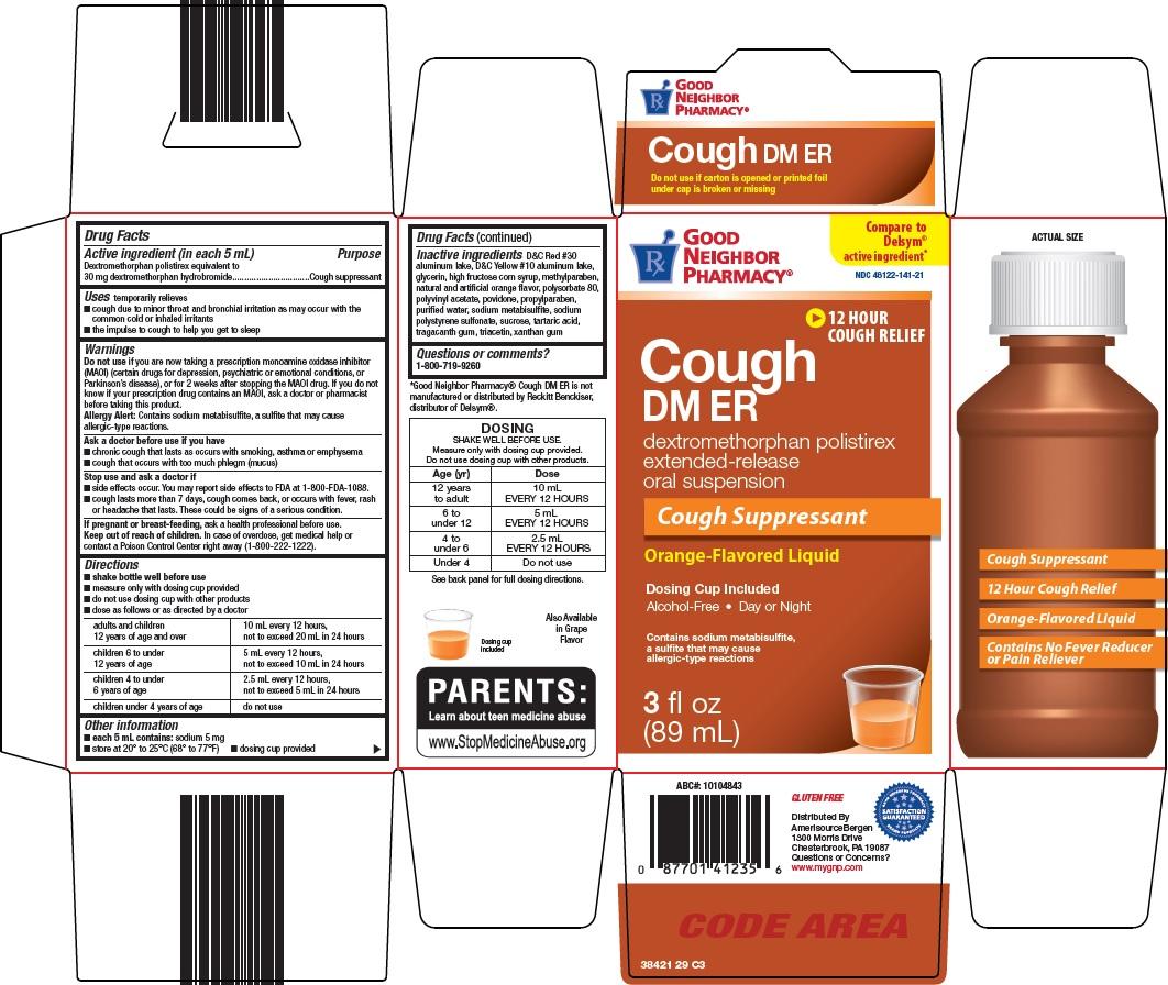 Good Neighbor Pharmacy Cough DM ER: Details from the FDA ...
