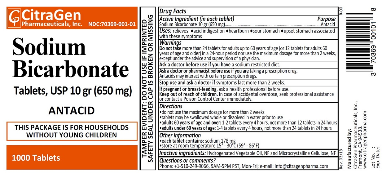 Sodium Bicarbonate 10 Gr (650 Mg): Details from the FDA ...
