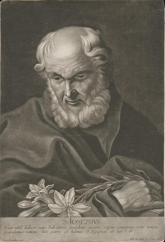 Johann Jacob Haid, Ján Kupecký: Svätý Jozef (Galéria mesta Bratislavy), zdroj: Webumenia.sk