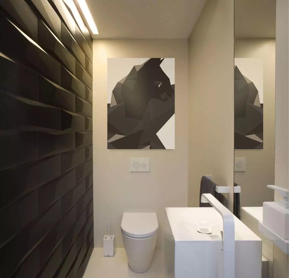 отделка туалета плиткой фото дизайн 5