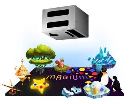 Структура из чего состоит интерактивный пол Магиум