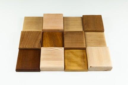 квадратная деревянная плитка