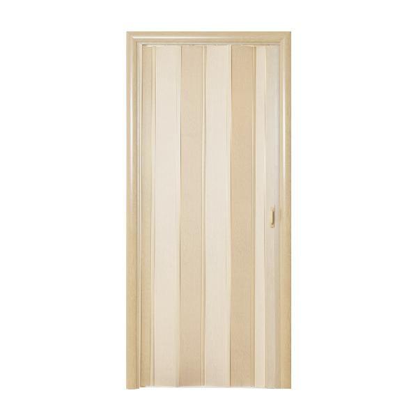 Дверь-гармошка Стиль «Дуб беленый»