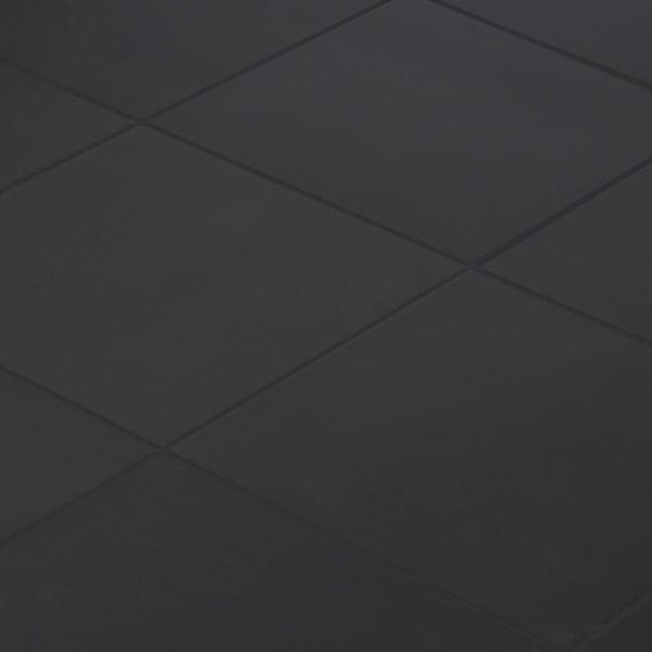 Керамогранит Unitile «Моноколор» 40x40 см 1.6 м² цвет черный
