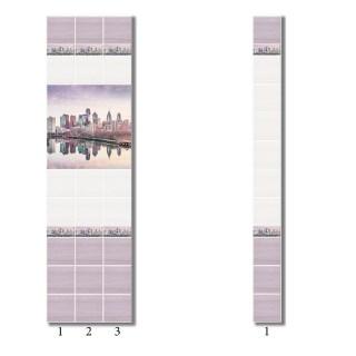 Панель ПВХ DecoPrint Мегаполис