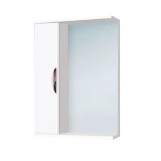 Шкаф зеркальный «Ника» левый