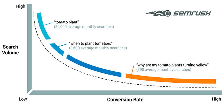 semrush audience conversion