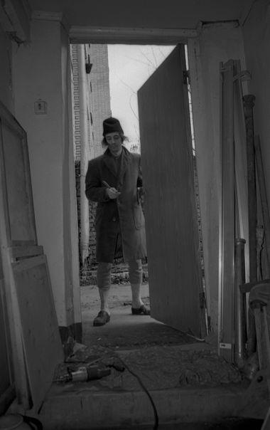 Клим. Подвал в Среднем Каретном переулке, 1991. Фотография: Ольга Чумаченко