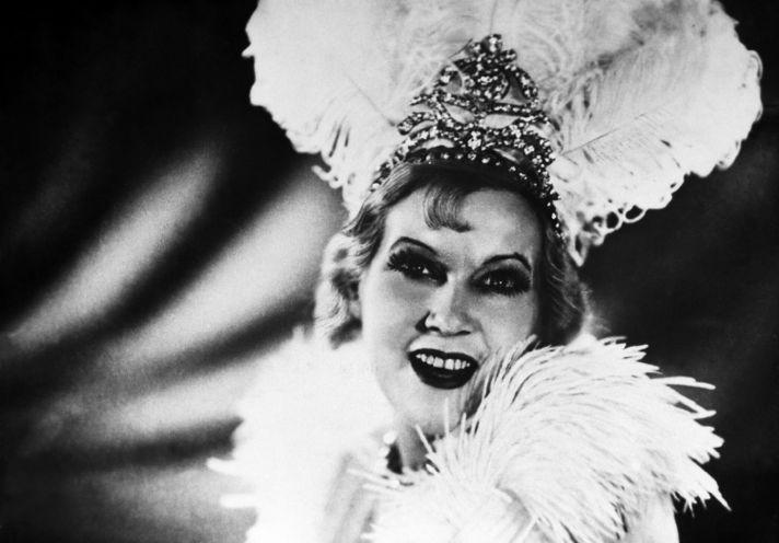 Любовь Орлова в роли Марион Диксон. Кадр из киномюзикла Григория Александрова «Цирк», 1936