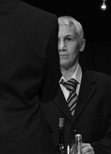 Роза Хайруллина взаглавной роли  в«Короле Лире», постановка Константина Богомолова,  «Приют комедианта», 2011