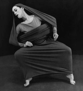 Марта Грэм в «Ламентации», 1930