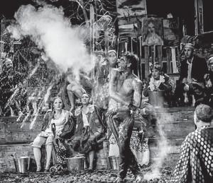 «Ревизор» Гоголя в постановке Николая Коляды, театр Studio, Варшава, 2014