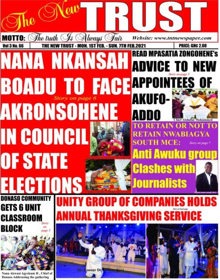 Newspaper Headlines Of Today February 1st 2021 85