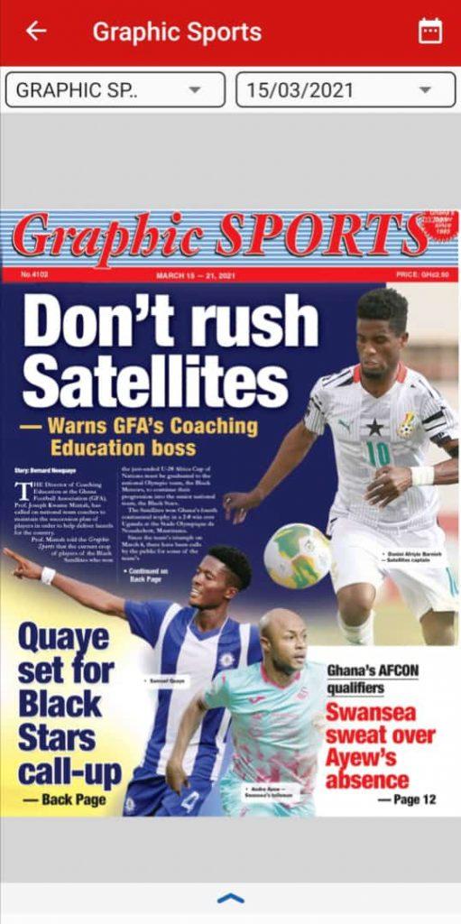Newspaper Headlines of Monday, March 15, 2021 115