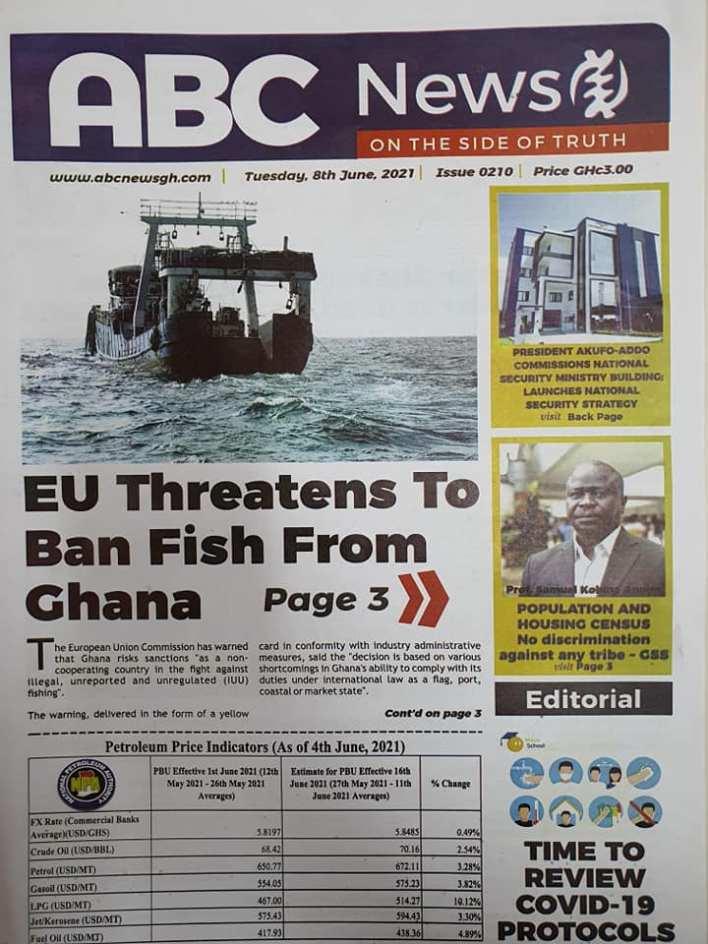 Newspaper Headlines Of Today June 8th 2021 13