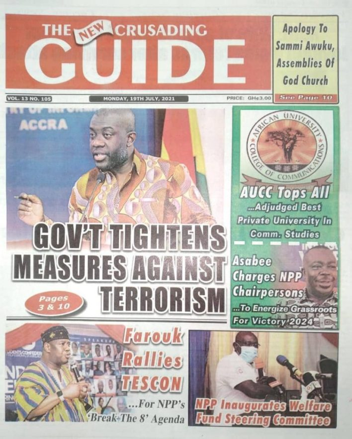 Today's Newspaper Headlines Of Monday July 19, 2021 5