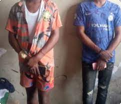 Photo of Suspected gay couple arrested as one is stabbed for cheating