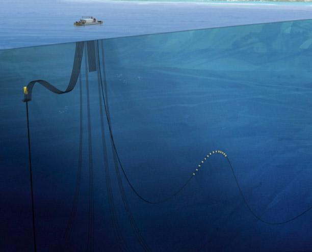 DCNS offshore OTEC demonstrator (© DCNS)