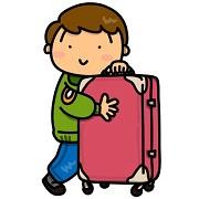 スーツケースの容量を決めるには旅行日数を目安にしましょう