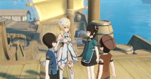 Геншин - Один корабль Два корабля Три корабля Дети