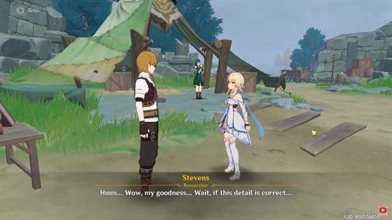 Игрокам нужно будет вернуть журналы Стивенсу (Изображение с Holyballs).