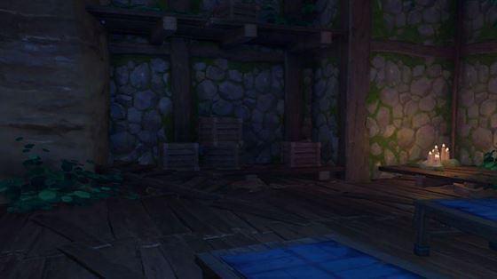 Контекст для старого каменного сланца в колодце Конда (изображение через Genshin Impact)