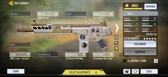 Оружейник DR-H в COD Mobile / Изображение через COD Mobile