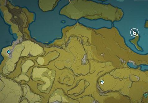 Место рыбалки к востоку от владения Чистый бассейн и горная пещера