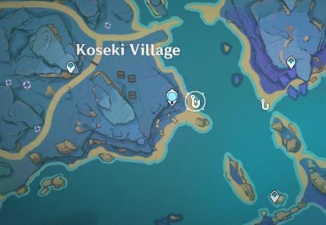 Место рыбалки в деревне Косеки