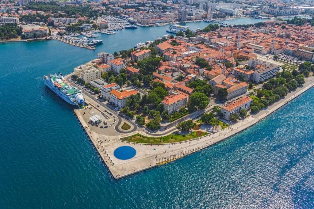 The city of Zadar