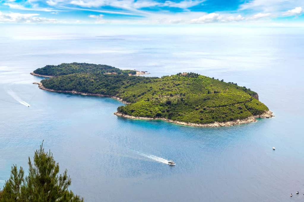 Game of Thrones Filming locations, Lokrum Island as the city of Qarth