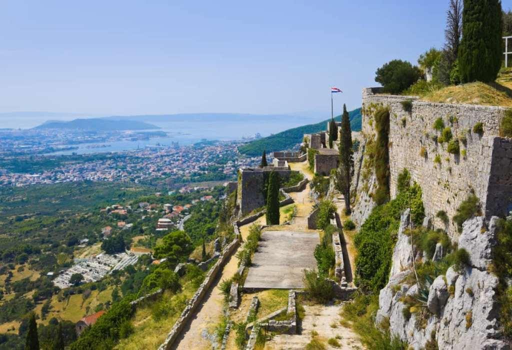 Game of Thrones filming locations in Croatia: Klis Fortress in Split as Mereen