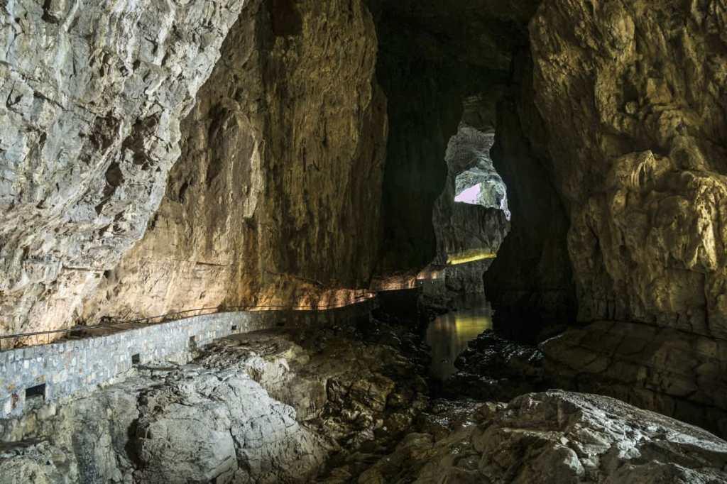Slovenia's UNESCO listed Skocjan Caves