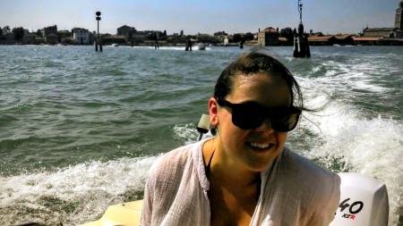 Time off in Venice by boat, Italy