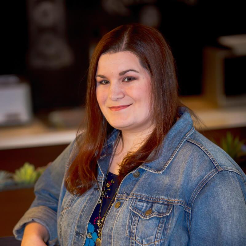Liz Rominski, Lead Graphic & Web Designer