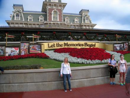 At Disney Orlando, Florida