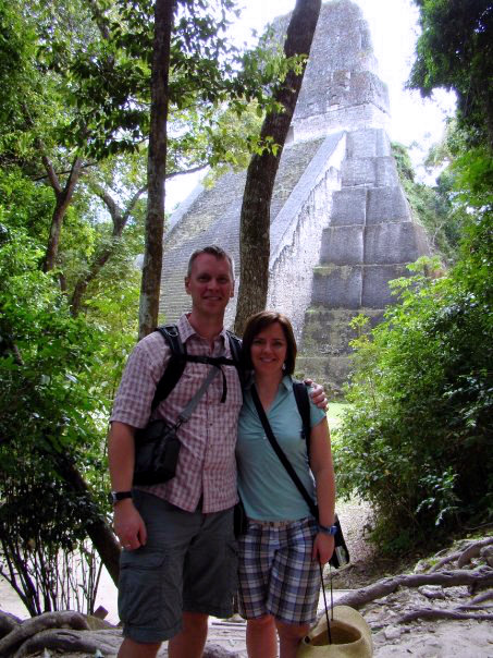 Visiting the Mayan ruins in Tikal, Guatemala