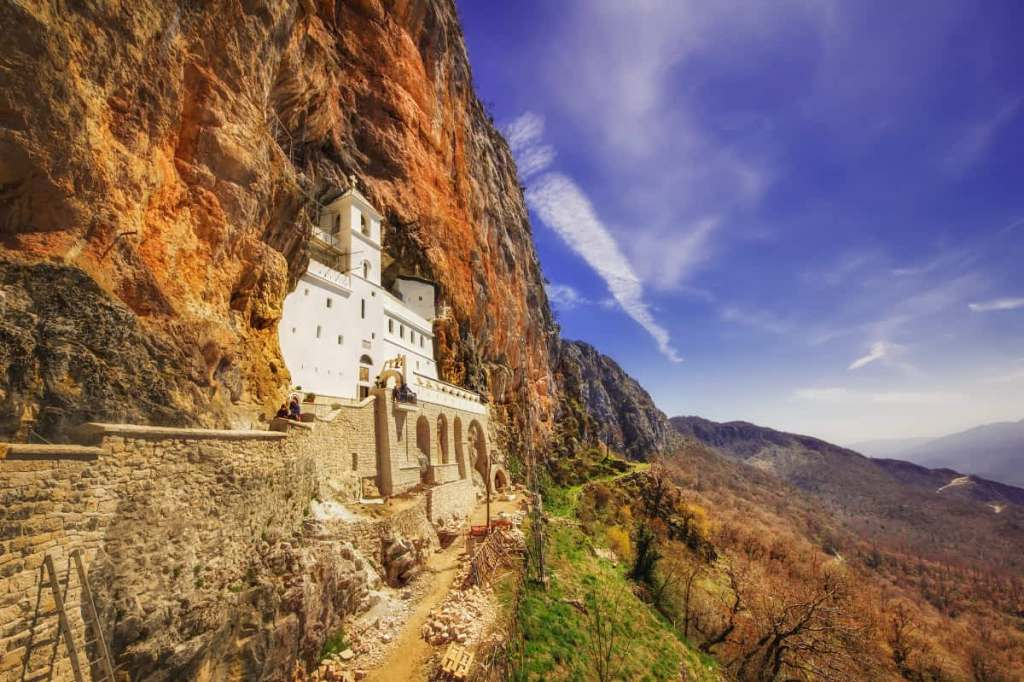 The best places to visit in Montenegro: Ostrog Monastery