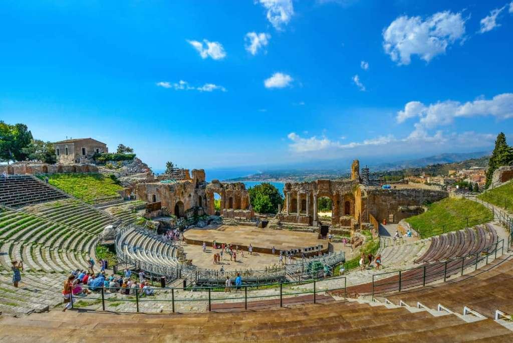 Seaside destinations in Italy: Taormina in Sicily
