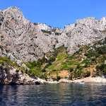 Rocky coast of Hvar, Croatia
